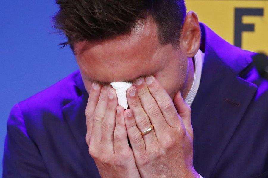 """Emocionante despedida de Messi: """"Pasé toda mi vida acá y no estaba preparado para irme"""""""
