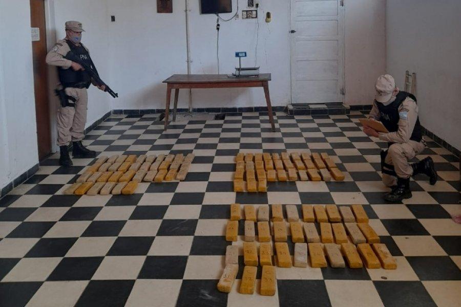 Itatí: Prefectura secuestró millonaria carga de marihuana