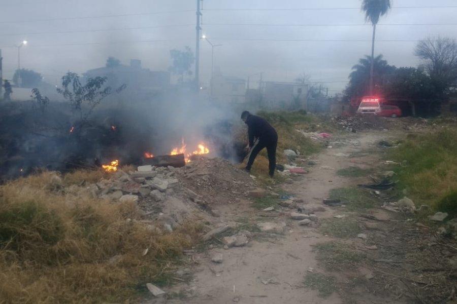 Bomberos Voluntarios de Corrientes con 56 intervenciones en 10 días