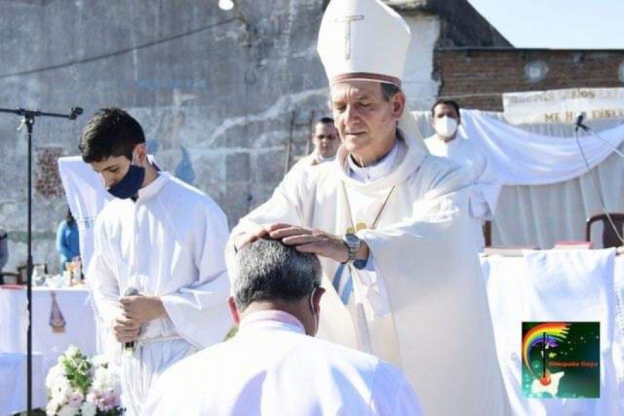 Monseñor Adolfo Canecin recordó la vocación de servicio en el día del diácono