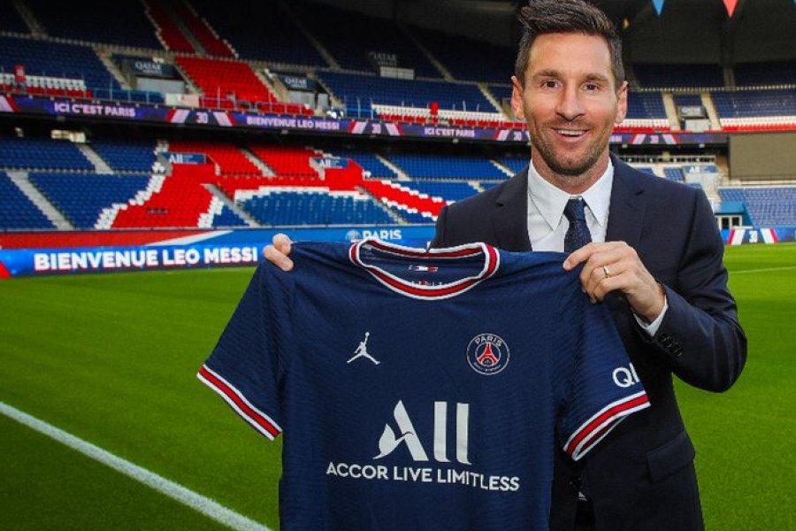 """Messi: """"Estoy emocionado de comenzar un nuevo capítulo de mi carrera en PSG"""""""