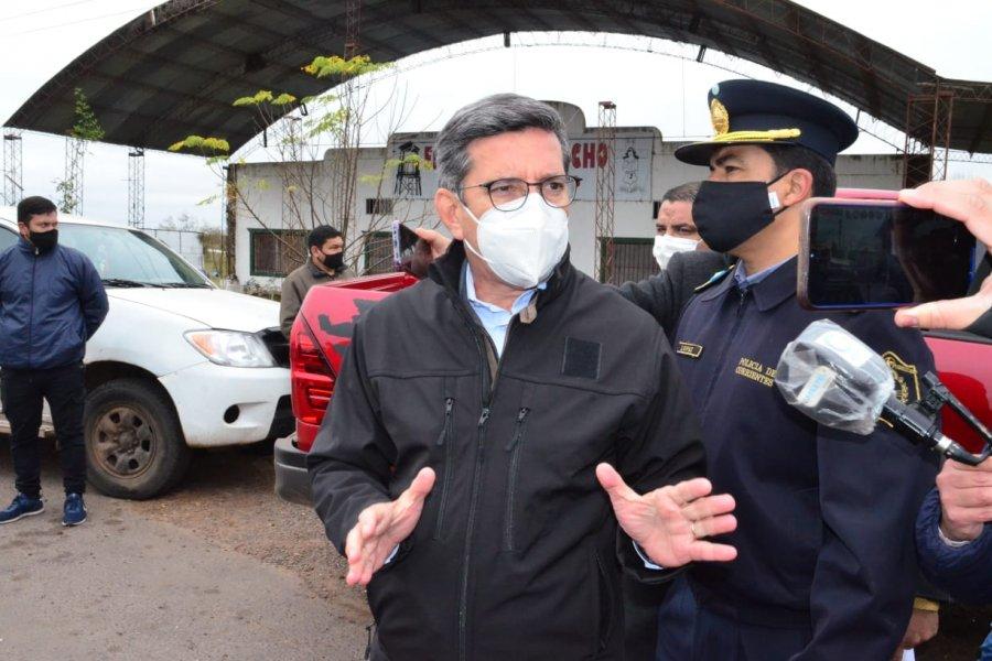 Los ministros de Seguridad y de Justicia darán detalles sobre la nueva intervención del Santuario La Cruz Gil