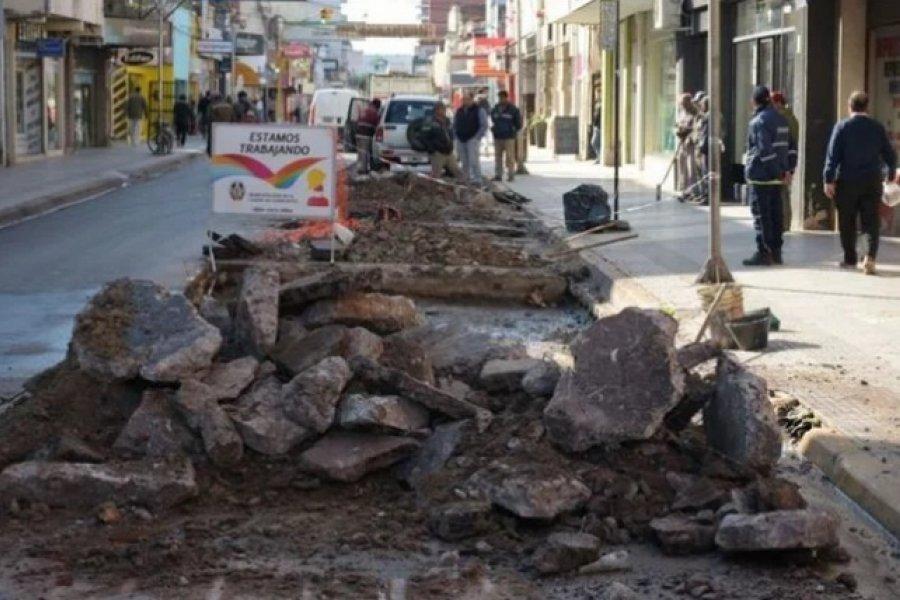Piden circular con precaución por obras en la ciudad de Corrientes