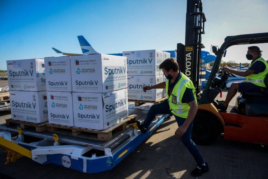 Llegan a Corrientes 14.850 dosis del componente 2 para Sputnik