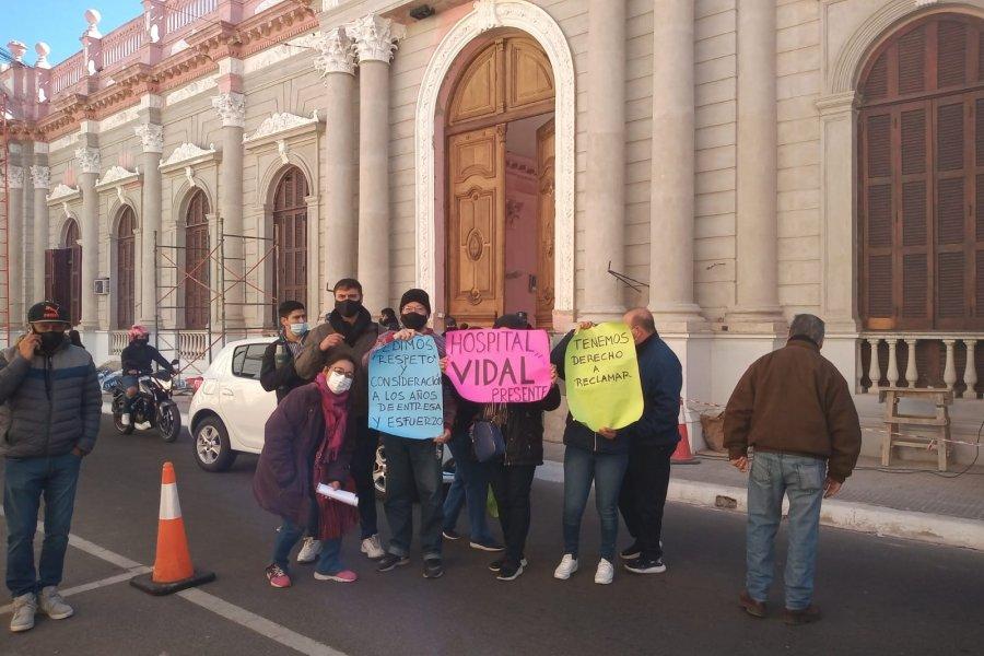 Nueva marcha de personal sanitario a Casa de Gobierno