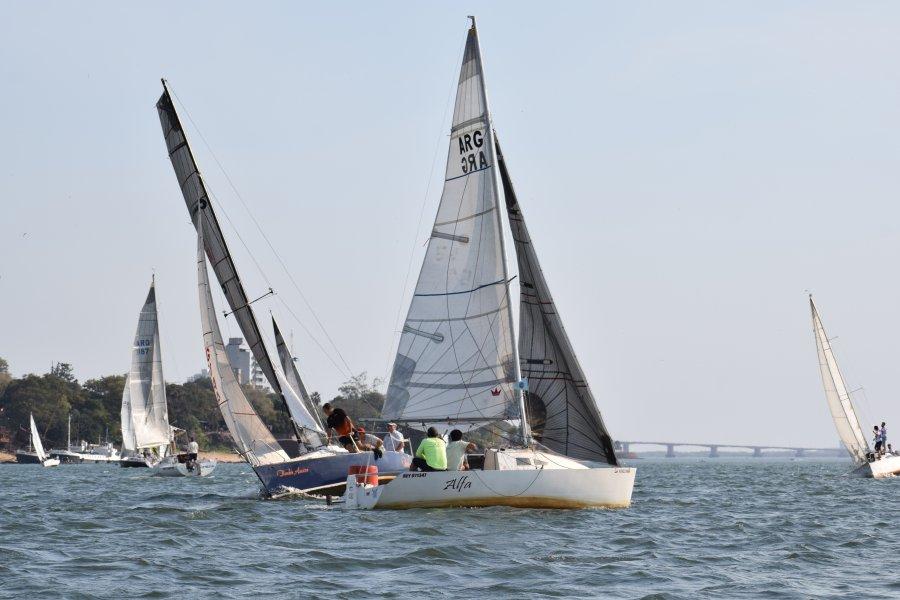Vela: Exitosa jornada de entrenamiento de regata