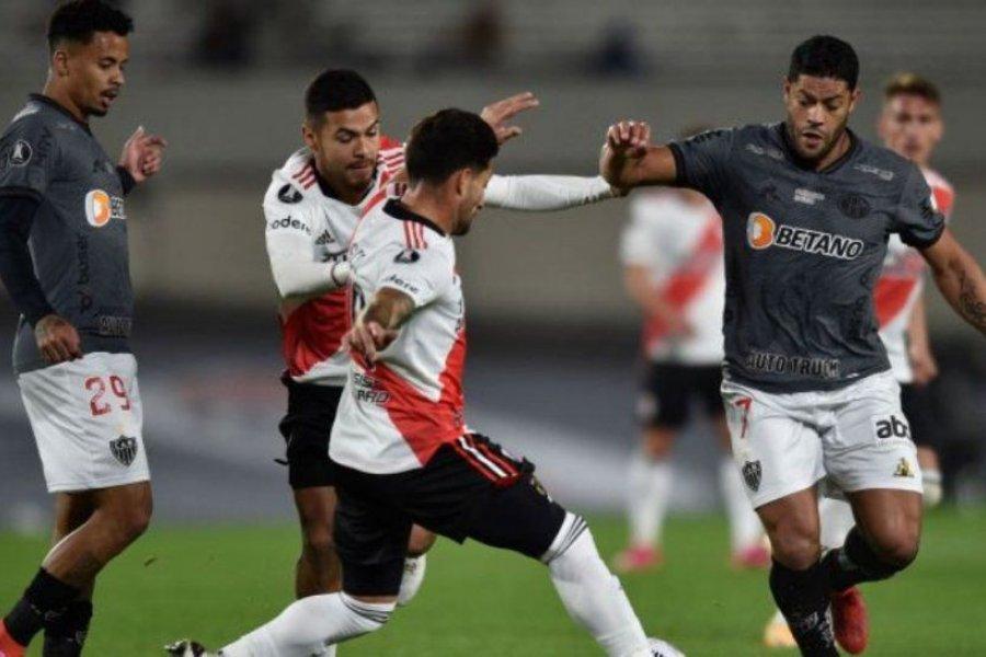 River perdió con Mineiro y necesitará de otra épica para clasificar a semifinales
