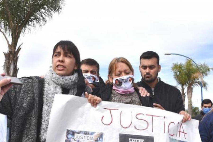 Doble crimen en Mercedes: cortaron la ruta 123 frente al predio del Gauchito Gil