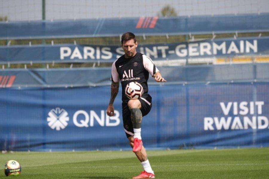 El mensaje de Messi tras su primer entrenamiento en el PSG