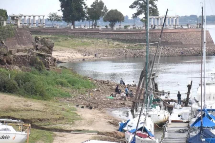 Alertan que la bajante del río Paraná podría continuar hasta diciembre