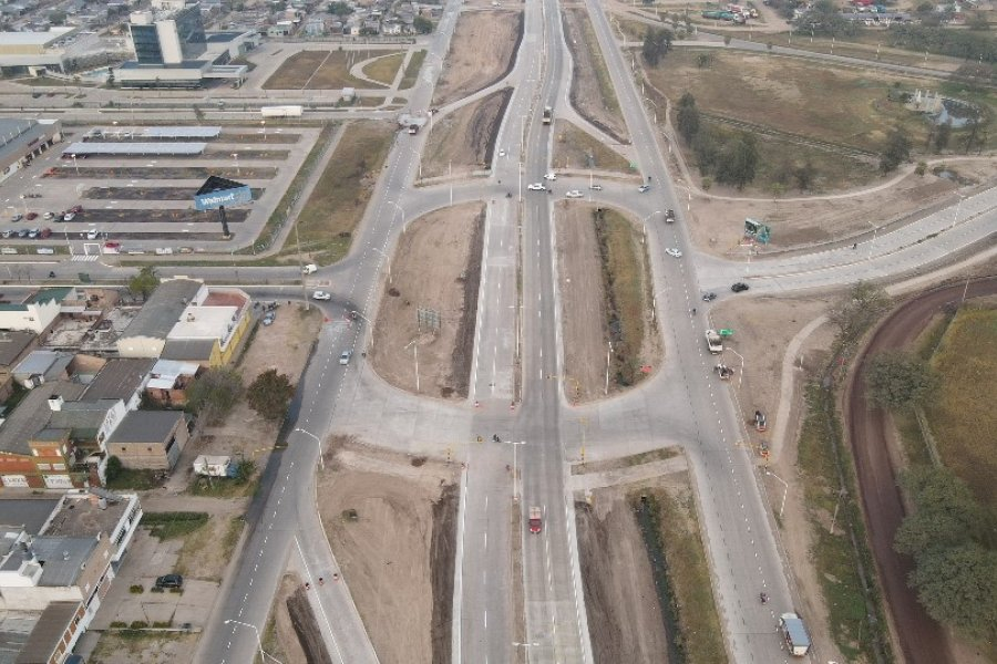 Vialidad nacional habilitó el primer tramo de la autovía de Resistencia