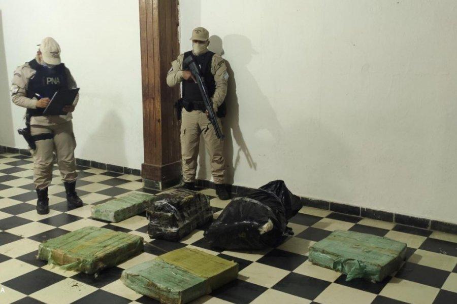 Prefectura secuestró más de 130 kilos de marihuana en Itatí