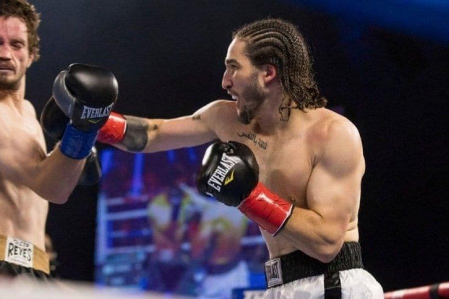 El nieto de Muhammad Alí debutó profesionalmente con una contundente victoria