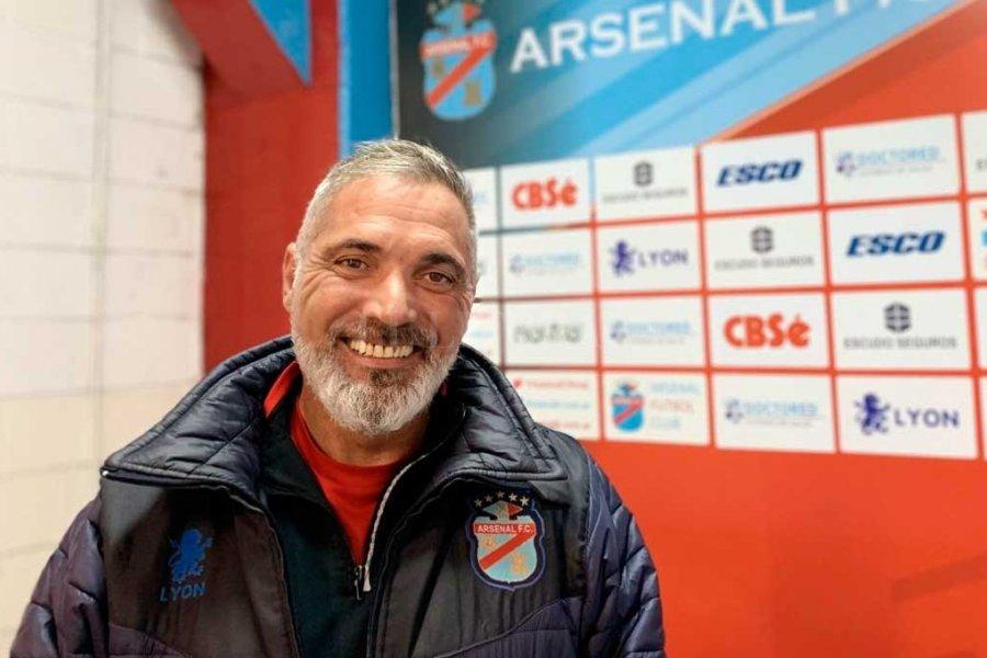 Sergio Rondina renunció como entrenador de Arsenal