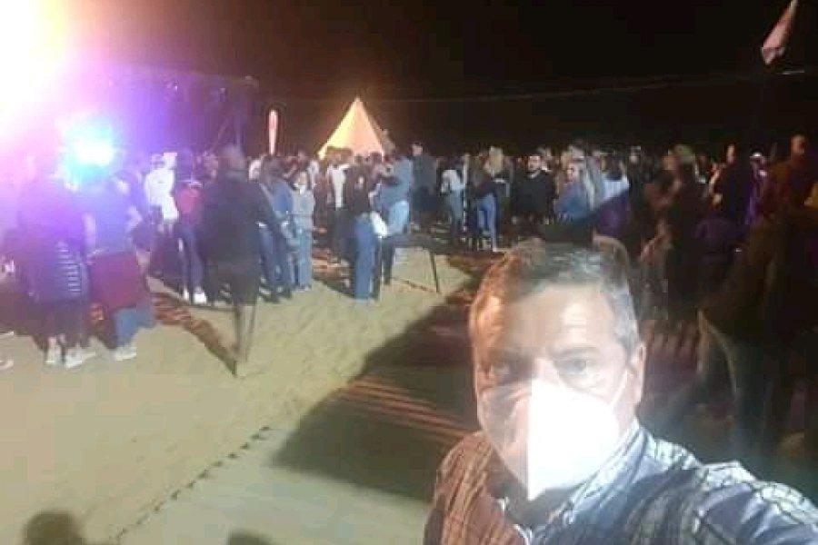 El Dipy con multitudinario show en Paso de la Patria y agradecimiento al Intendente