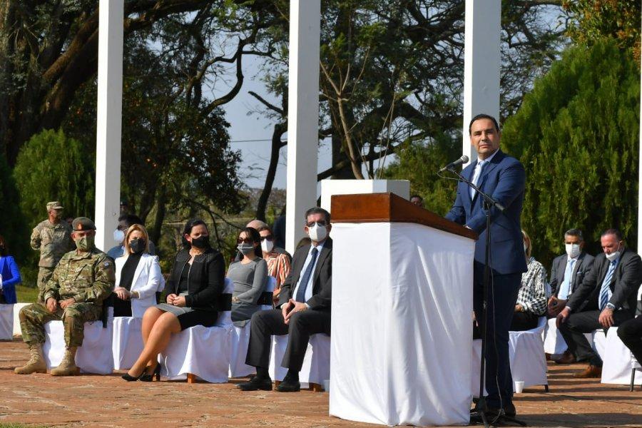 """Valdés rindió homenaje a San Martín: """"Nos enseñó que todos somos iguales ante la Ley"""""""