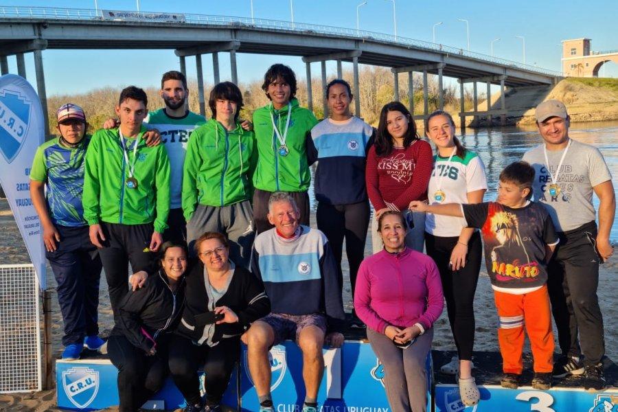 Gran participación de los regatenses en Concepción del Uruguay
