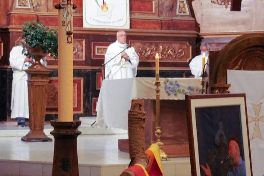 """Monseñor Faifer: """"La esperanza y la alegría es el mensaje que nos dejó el padre Julian Zini"""""""