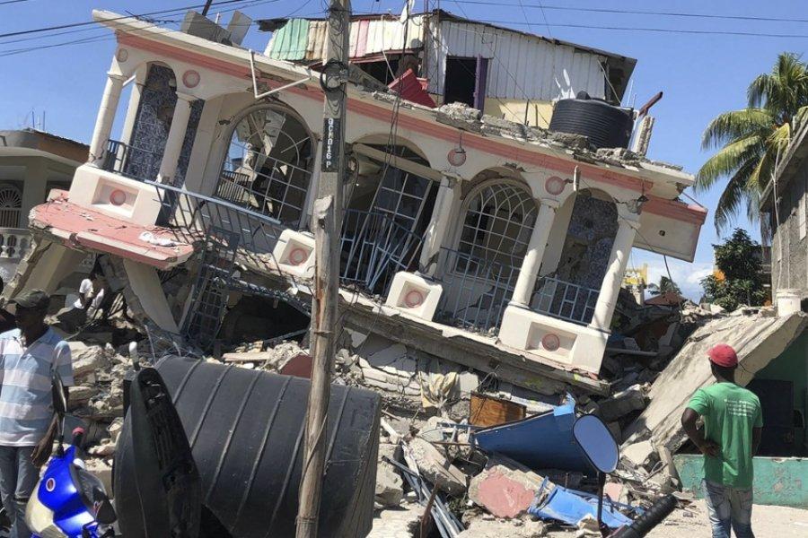 Ya son más de 2.000 los fallecidos tras el sismo en Haití