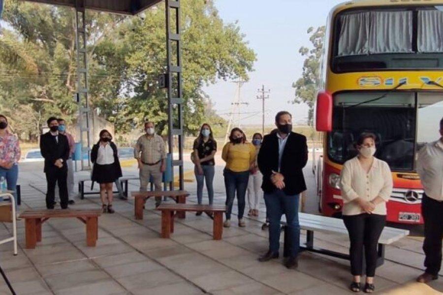 Lavalle habilito su terminal de omnibus