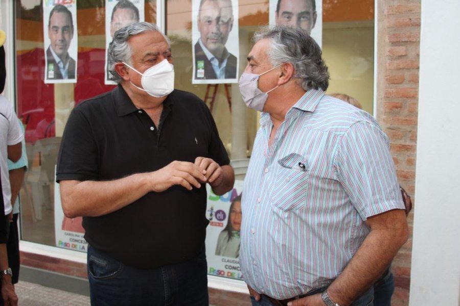 Cassani visitó El Paso en apoyo a la fórmula Chino García- Kalatex Romero