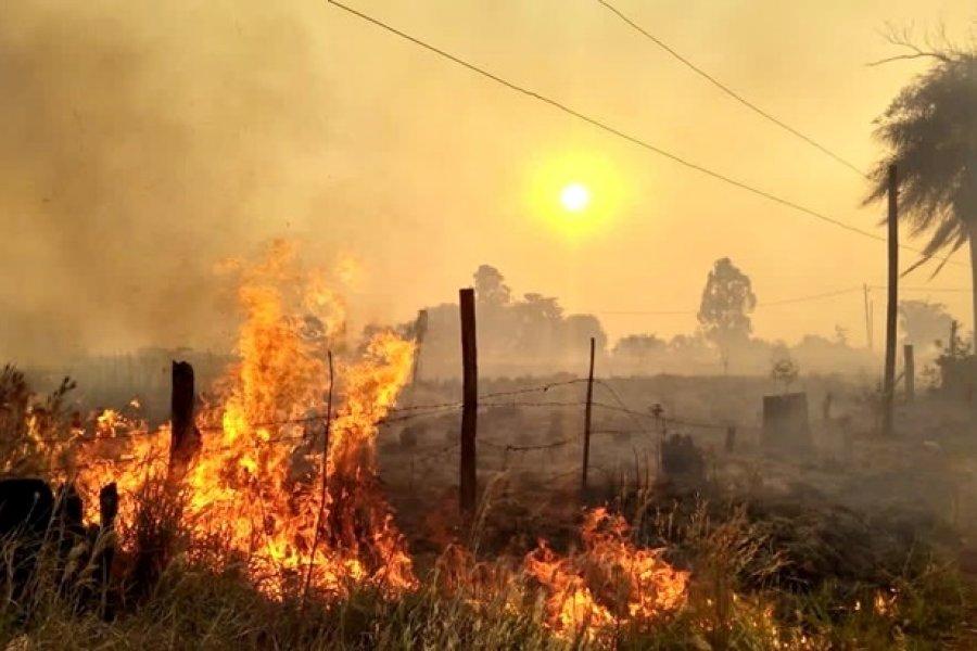 La Policía brinda consejos sobre prevención de incendios forestales