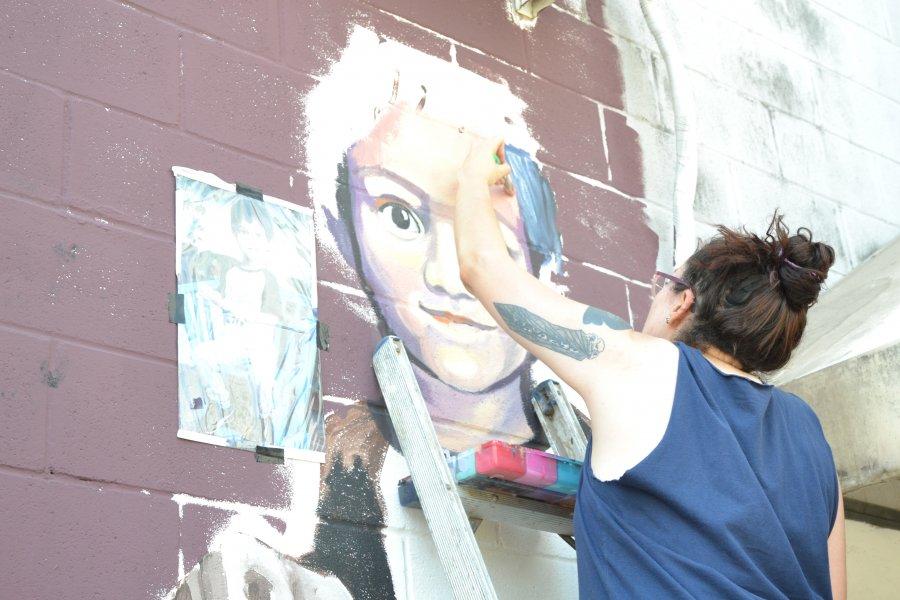 La Ciudad desarrolla el X Encuentro de Muralismo y Arte Público