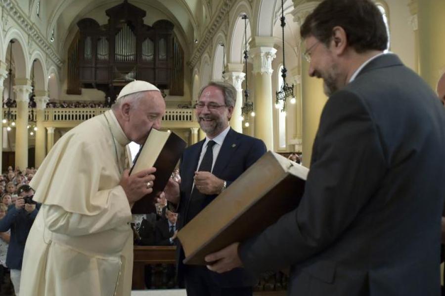 El Papa saluda al Sínodo de las Iglesias Metodistas y Valdenses