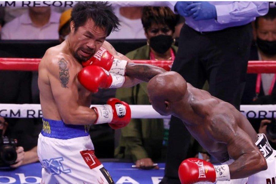 Manny Pacquiao cayó ante Yordenis Ugás en su regreso al boxeo