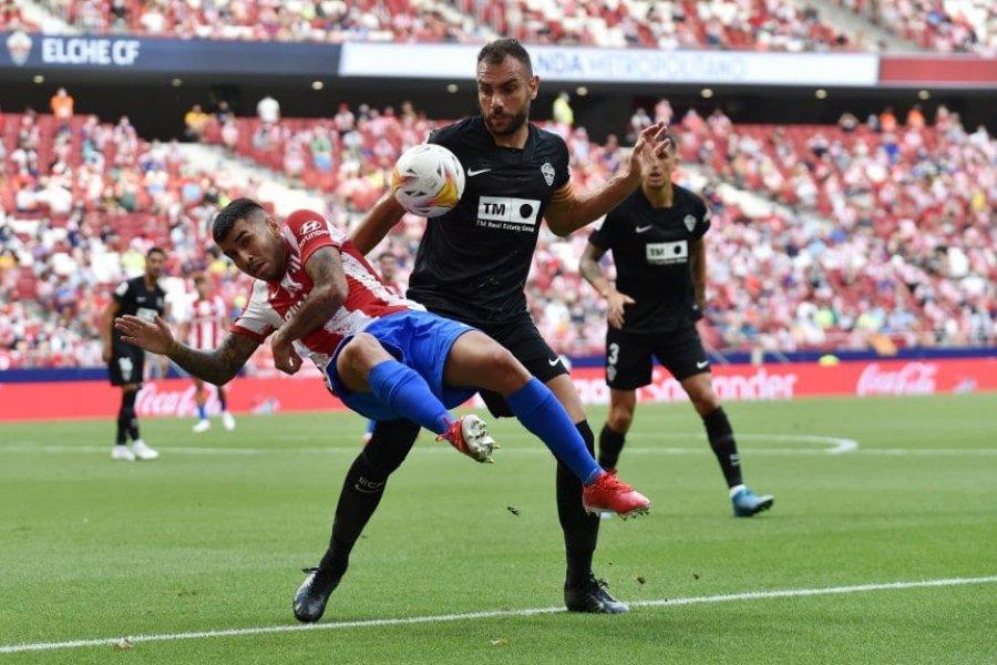 Con asistencia de De Paul y gol de Correa, el Atlético venció al Elche