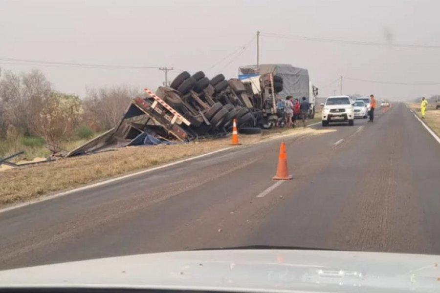 Corrientes: Impactante choque de un camión contra un caballo