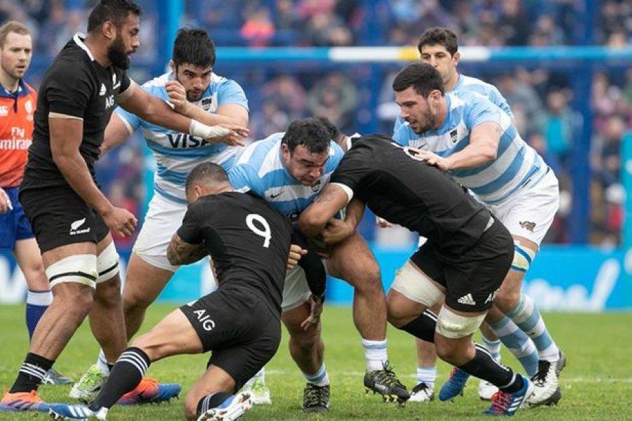 Los Pumas descendieron al séptimo lugar del ranking mundial de rugby