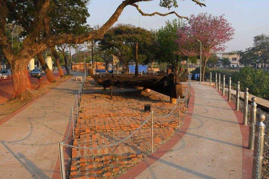 El parque Mitre se embellece y moderniza