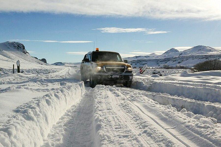 Rescate en Bariloche: Pasaron dos noches en una camioneta con 70 centímetros de nieve