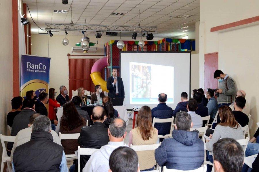 El Banco de Corrientes presentó nuevas líneas de crédito, productos y servicios