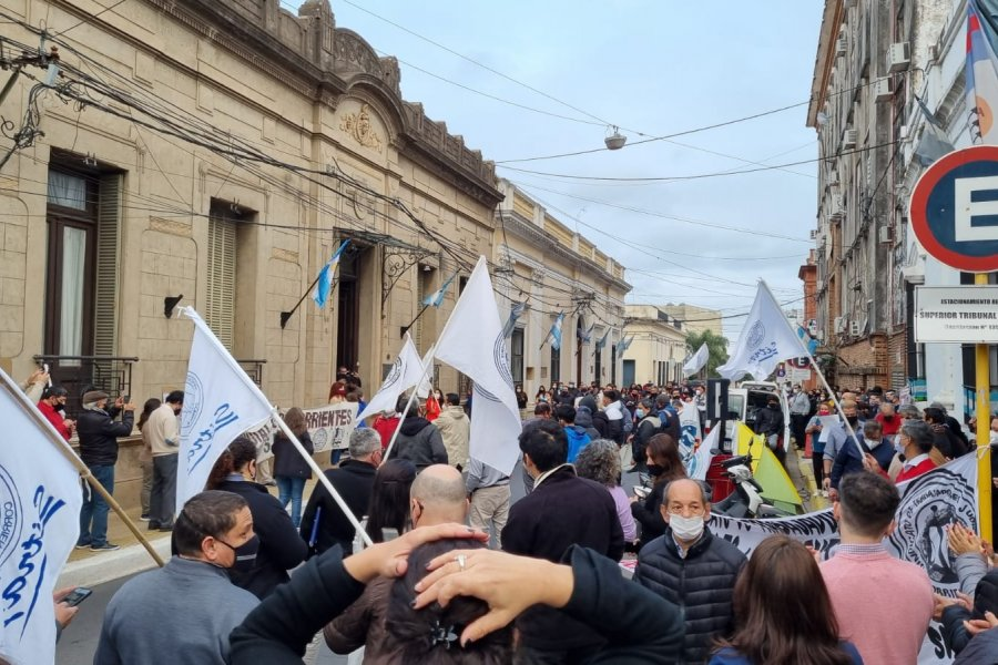 Judiciales correntinos trabajan a reglamento y más protestas ante el STJ