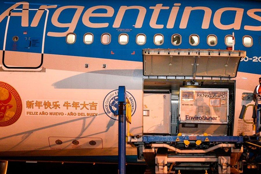 Argentina se encamina a superar las 50 millones de dosis recibidas