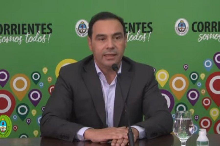 Valdés: No hago hipótesis y las elecciones están aseguradas en la provincia