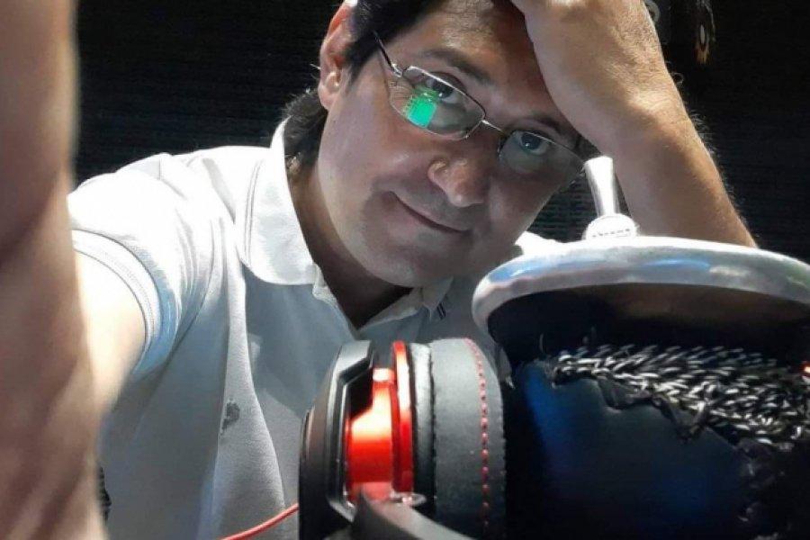 Chaco: Falleció Julio Sosa, el locutor que padecía ELA