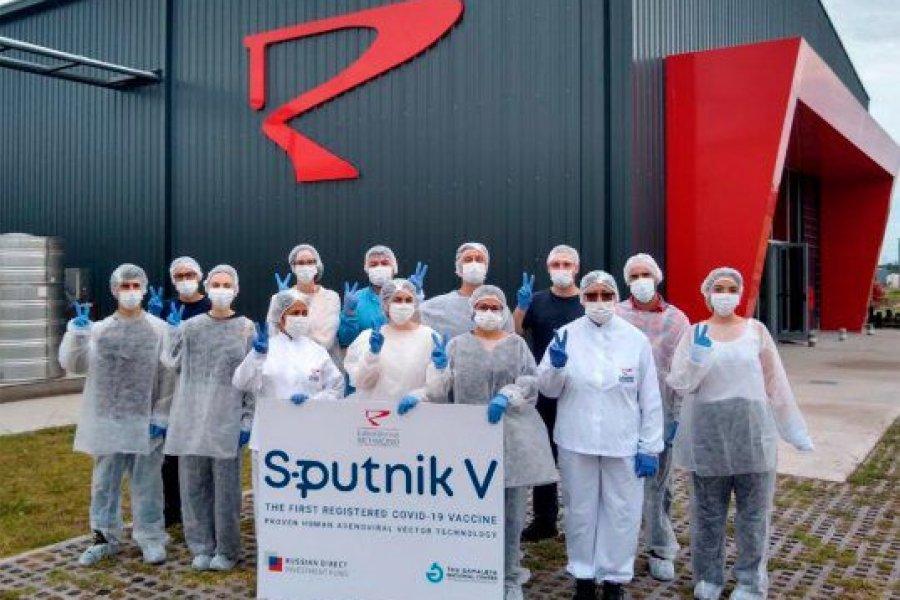 Richmond entregó más de de 307 mil dosis del componente 2 de Sputnik V