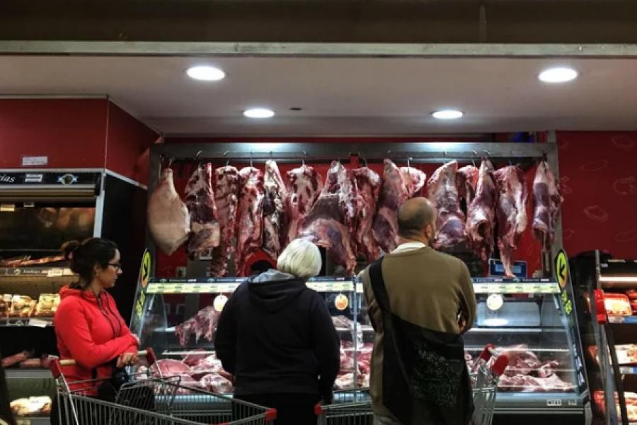 El consumo de carne alcanzó el volumen más alto en un año