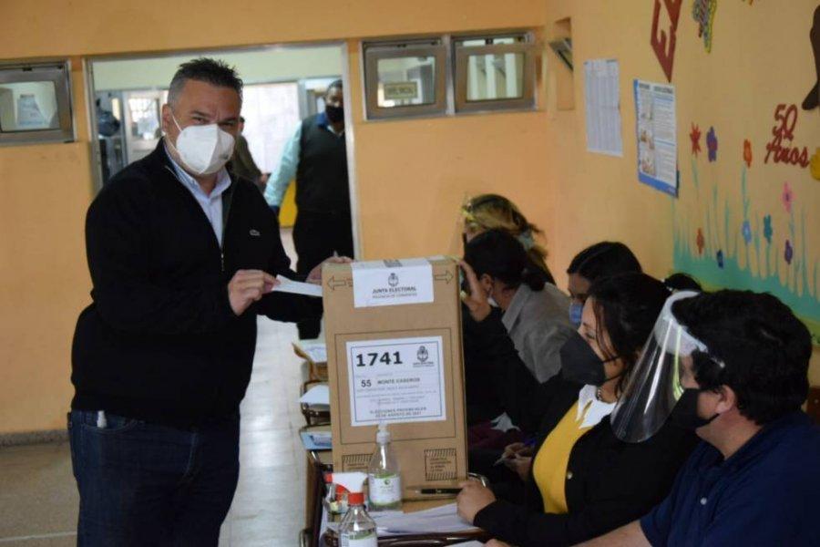 Monte Caseros: votó el candidato de ECO y estimó que concurrirá el 70 por ciento del padrón