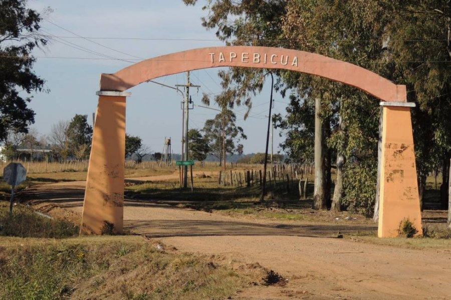 Tapebicuá: Intensos controles de seguridad en la única escuela donde se sufraga