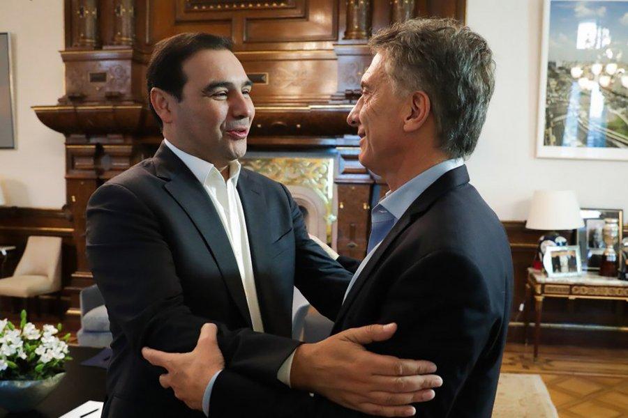 Mauricio Macri felicitó a Gustavo Valdés