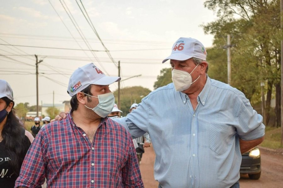 Mercedes: Cemborain confirmó a Pablo Romero como su candidato a Viceintendente