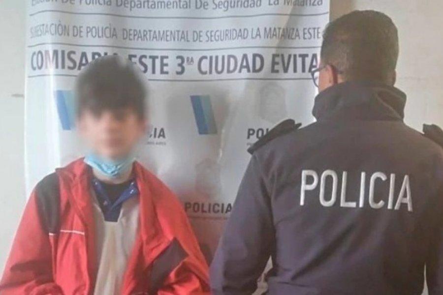 Apareció sano y salvo el niño de 13 años que era buscado en Liniers