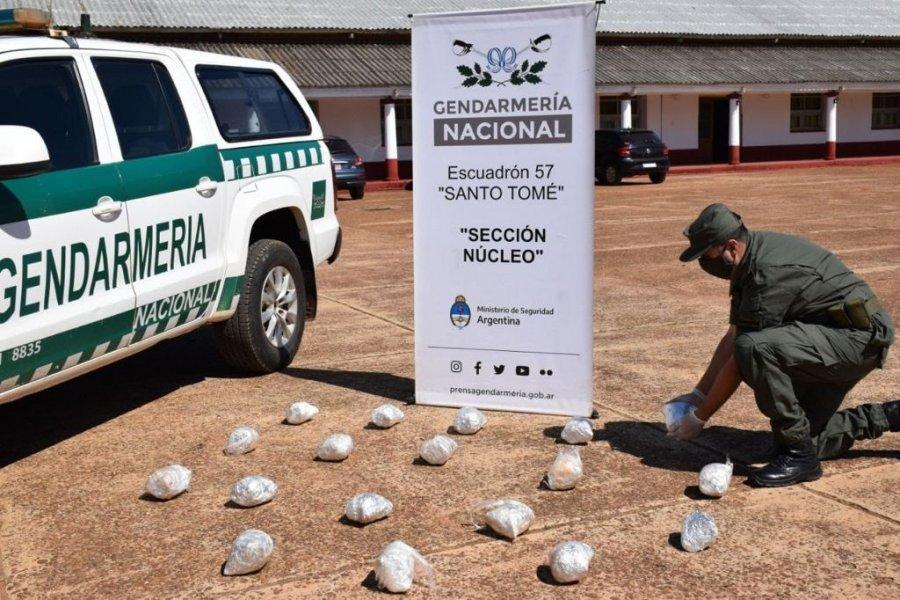 Corrientes: Decomisaron más de 22 kilos de marihuana en dos procedimientos