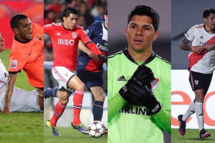 Todas las posiciones en la que jugó Enzo Pérez