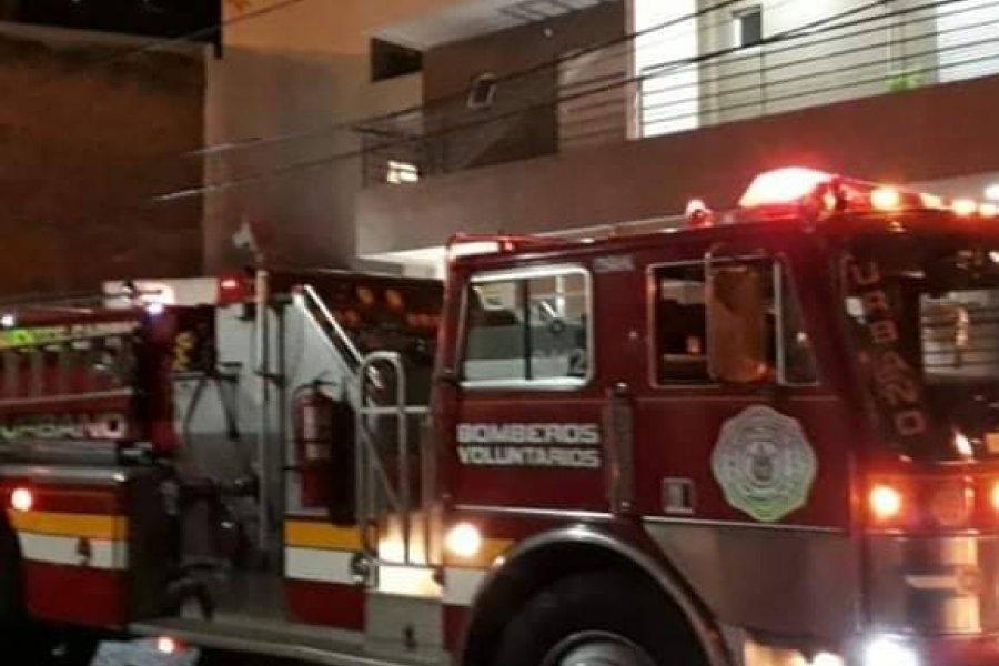Principio de incendio en una vivienda en barrio Libertad
