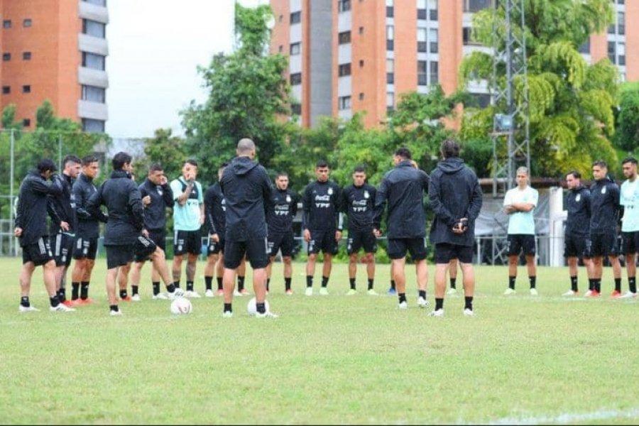 La Selección Argentina y un cambio de último momento en la práctica